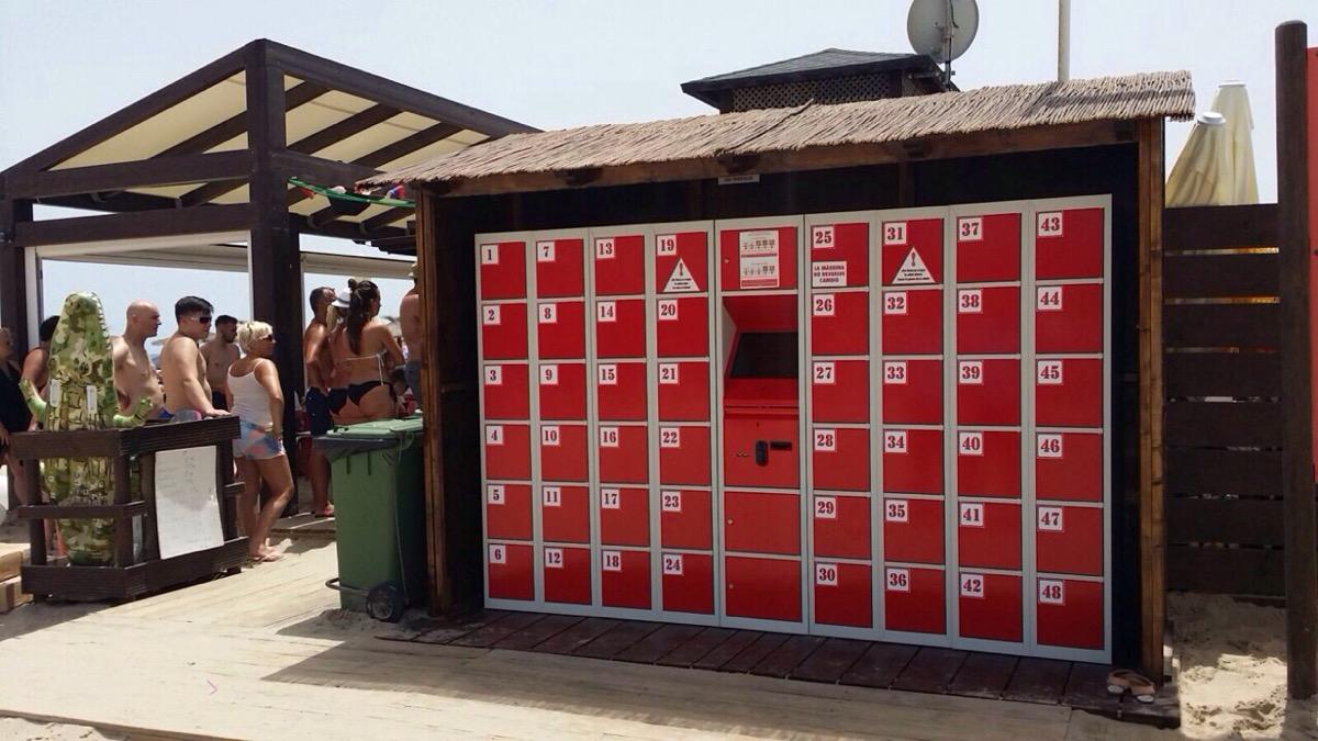 Картинки по запросу пляжные камеры хранения